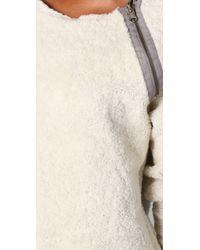 Dolan - Gray Reversible Sweatshirt - Lyst