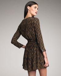 Elizabeth and James - Black Paulina Printed Dress - Lyst