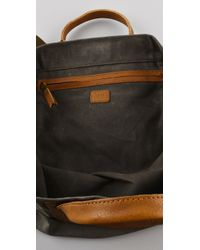 Madewell - Brown Surplus Canvas Tote - Lyst
