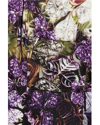 Mary Katrantzou   Multicolor Eva Printed Crepe Mini Dress   Lyst