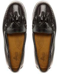 G.H. Bass & Co. - Black Washington Tassled Loafers - Lyst