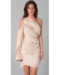 Sheri Bodell - Pink One Shoulder Dress - Lyst