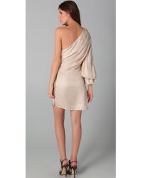Sheri Bodell | Pink One Shoulder Dress | Lyst