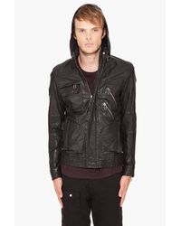 Yigal Azrouël | Black Washed Jacket for Men | Lyst