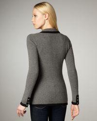 Autumn Cashmere | Gray Cashmere Blazer | Lyst