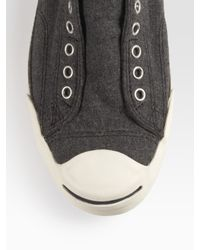 Converse | Black Jack Purcell Wool Sneakers | Lyst