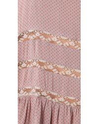 Free People | Pink Trapeze Slip Dress | Lyst