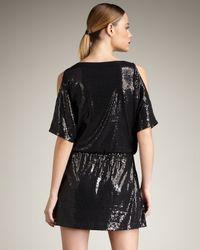 Jay Godfrey | Black Paillard Sequined Dress | Lyst