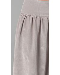 Thread Social - Gray Dakota Ball Gown Skirt - Lyst