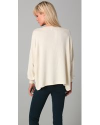 Wildfox - White Yes Nevada Baggy Beach Sweatshirt - Lyst