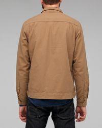 Folk - Brown Eno Shirt Jacket for Men - Lyst