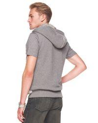 Michael Kors Gray Rabbit Vest for men