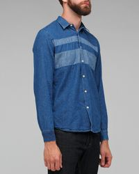 Our Legacy | Blue Chest Panel Shirt for Men | Lyst