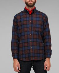 Pendleton | Blue Fireside Button Down Shirt for Men | Lyst