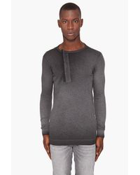 Diesel Black Gold | Gray Toro-mag Henley for Men | Lyst