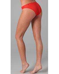 Stella McCartney - Red Cherie Sneezing Bikini Briefs - Lyst