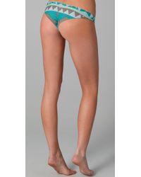 Tori Praver Swimwear | Green Kalani Reversible Bikini Bottoms | Lyst