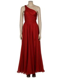 Halston - Red The Jerry Dress - Lyst