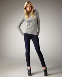 J Brand | Blue Maria Dynamite High-rise Skinny Jeans | Lyst