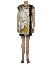 Tibi   Multicolor Baroque Print Shift Dress   Lyst