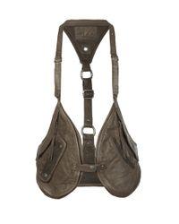 AllSaints | Brown Rhyder Utility Vest | Lyst