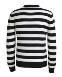 A.P.C. | Blue Navy and White Stripe Jumper for Men | Lyst