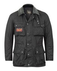 Barbour | Black Hybrid International Field Surtees Jacket for Men | Lyst