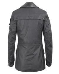 Barbour | Black Waxed Field Jacket for Men | Lyst