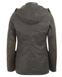 Barbour - Green Olive Waxed Cotton Sports Jacket for Men - Lyst