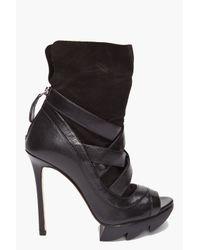 Camilla Skovgaard | Black Ankle Wedge Heels | Lyst