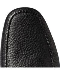 Car Shoe - Black Leather Driving Shoes for Men - Lyst