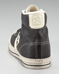Converse Black Star Player Leather Hi-top for men