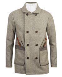 Folk | Gray Heavyweight Wool Coat for Men | Lyst