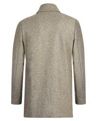 Folk - Gray Heavyweight Wool Coat for Men - Lyst