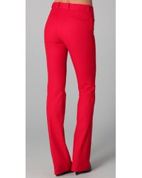 JOSEPH | Red Rocket Boot Cut Pants | Lyst