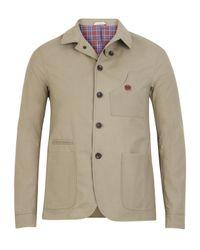 Oliver Spencer | Natural Sand Navigator Wax Jacket for Men | Lyst