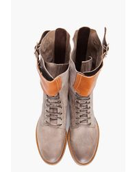 Paul Smith - Gray Sid Boots for Men - Lyst
