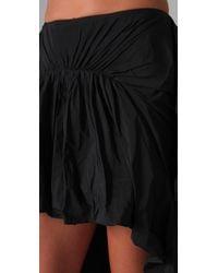 Thakoon | Black Bustle Skirt | Lyst