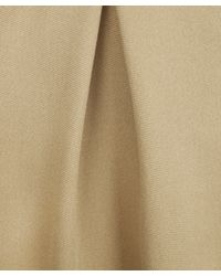 3.1 Phillip Lim Natural Camel Pleated Wool Mini Skirt