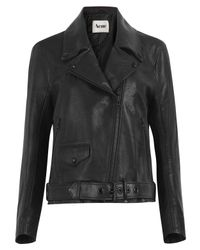 Acne Studios | Black Mapplethorpe Leather Biker Jacket | Lyst