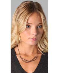 Alexis Bittar - Metallic Liquid Twined Necklace - Lyst