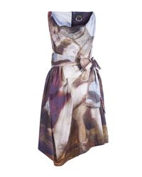 Vivienne Westwood Anglomania | Multicolor Friday Printed Renaissance Dress | Lyst