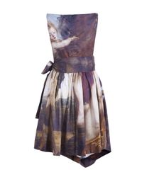Vivienne Westwood Anglomania - Multicolor Friday Printed Renaissance Dress - Lyst
