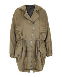 Vivienne Westwood Anglomania | Natural Khaki Drawstring Parka Jacket | Lyst
