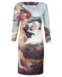Vivienne Westwood Anglomania | Multicolor Renaissance Drape Dress | Lyst