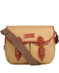Barbour | Brown Cotton Canvas Tarras Bag for Men | Lyst