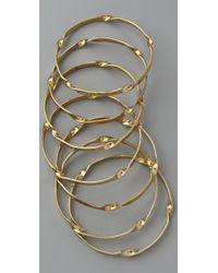 By Malene Birger - Metallic Typaro Bangle Set - Lyst