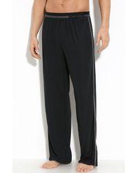 Calvin Klein | Black Micromodal Lounge Pants for Men | Lyst