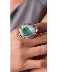 Chan Luu - Green Agate Ring - Lyst