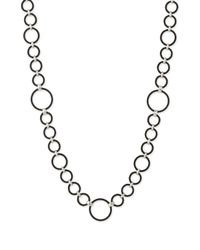 Charriol | Black Celtique Noir Cable Ring Long Necklace | Lyst